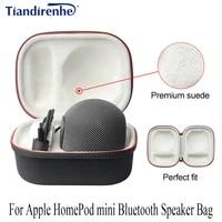 Pour Apple HomePod mini haut-parleur Bluetooth sac nouveau Portable sans fil Bluetooth EVA haut-parleur etui sans haut-parleur Anti-chute coque