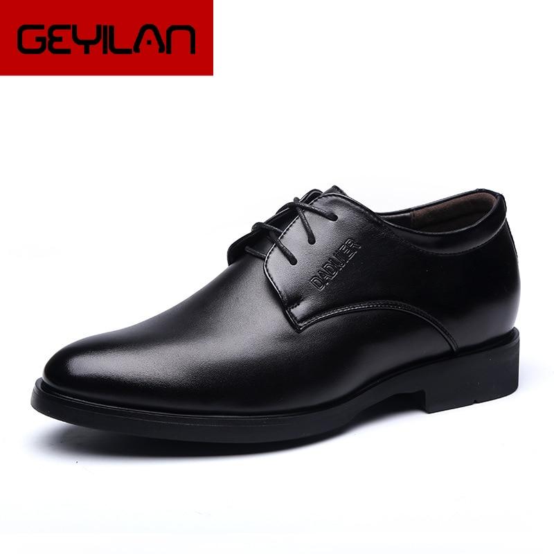 Zapatos Oxford de Zapatos altos para Hombre, Zapatos de vestir a la...