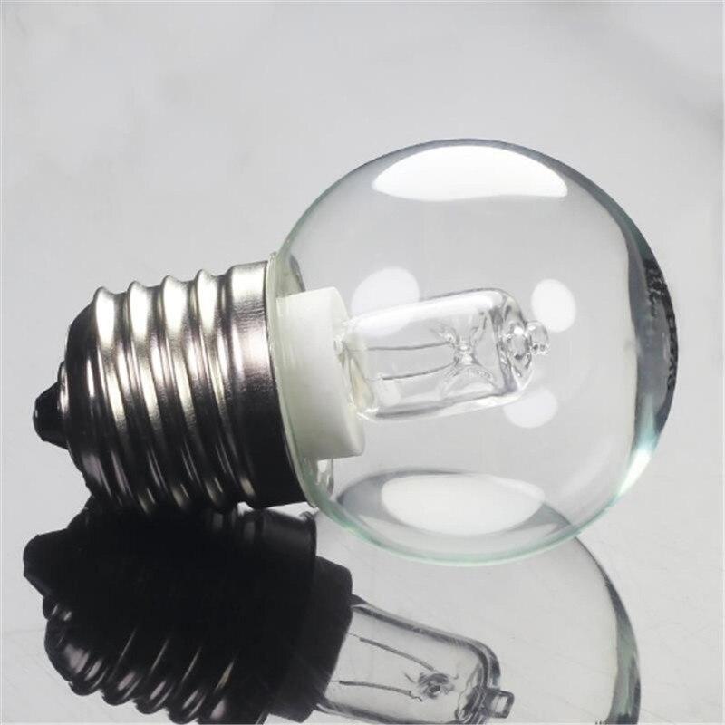 1 pièces E27 G45 42W four ampoule AC110-250V haute température 300 micro-ondes 630LM verre lampe ampoule blanc chaud livraison directe