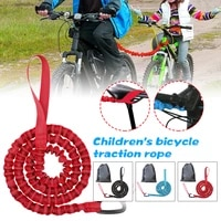 tow rope mtb bicycle tow bungee child cycling stretch pull strap for long cycling adventures elastic parent child nylon rope