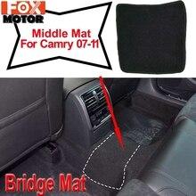 Custom Floor Mat Mats For Camry XV40 2007 - 2011 Waterproof Carpet Rug Nylon Liner Middle Bridge Mat 2008 2009 2010 1pcs