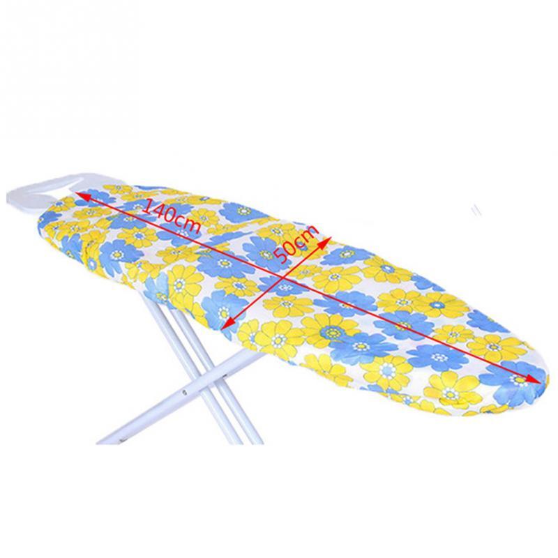 Tabla de planchar de fieltro de retención de calor ultragrueso fácil de instalar (tabla de planchar no está incluida) 140*50cm Color al azar