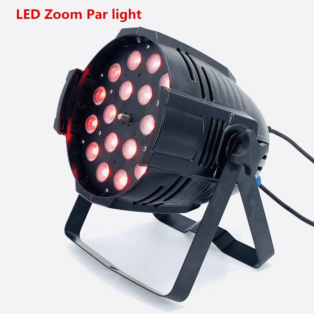18x18 Вт RGBWA UV 6in1 Led Zoom Par Light led effect light dj dmx lights disco light zoom 10-60 градусов сценическое освещение