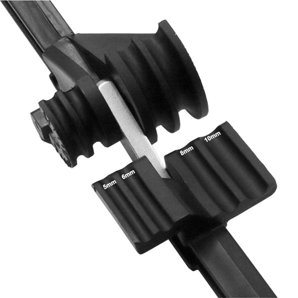 Combined Four-Slot Pipe Bender-CT-369FHA 180 Degree Tube Bender -Pipe Bender Manual Elbow Tool For 5/6/8/10mm Fiber Bender enlarge