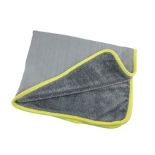 600 г, 70*55 см, толстая впитывающая плетеная ткань, оплетка, большое полотенце для мытья автомобиля, салфетка для очистки пола без ворса