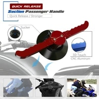 quick release vacuum hand pump suction cup passenger handgrips tank grab bar handle armrest for suzuki gsxs 750 gsx s1000
