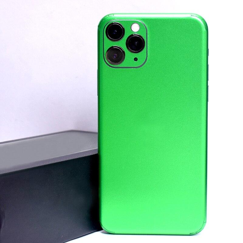 Красочный матовый чехол для iPhone 11 Pro XS MAX XR X 8 7 6 6S Plus, прозрачная защитная пленка