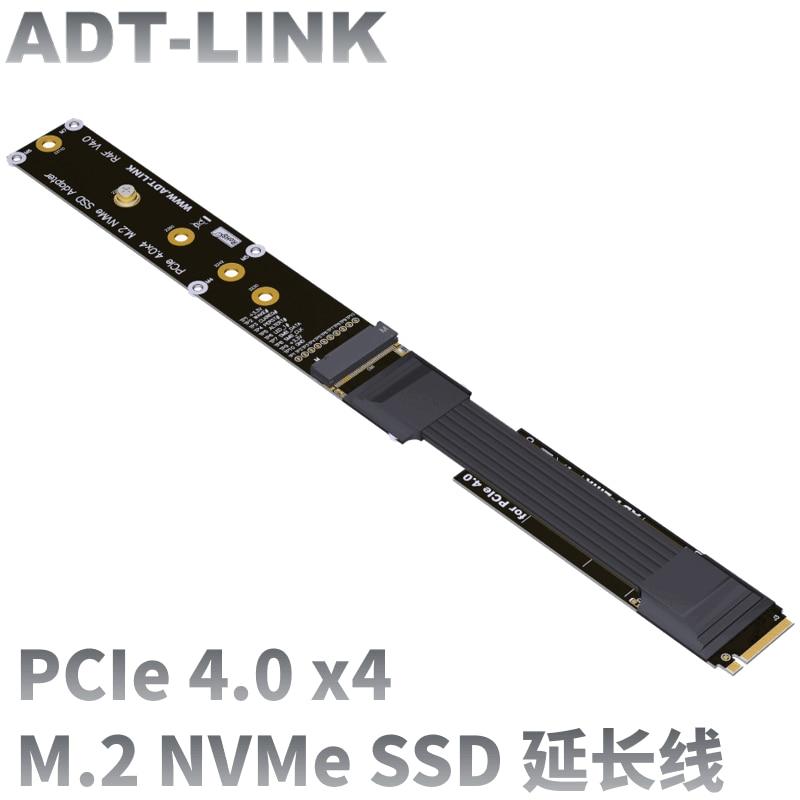 2021 جديد M.2 NVMe SSD تمديد كابل محرك الأقراص الصلبة الناهض بطاقة M2 إلى PCI express s4.0 X4 PCIE 64G/Bps M مفتاح الناهض موسع R44SF 4.0