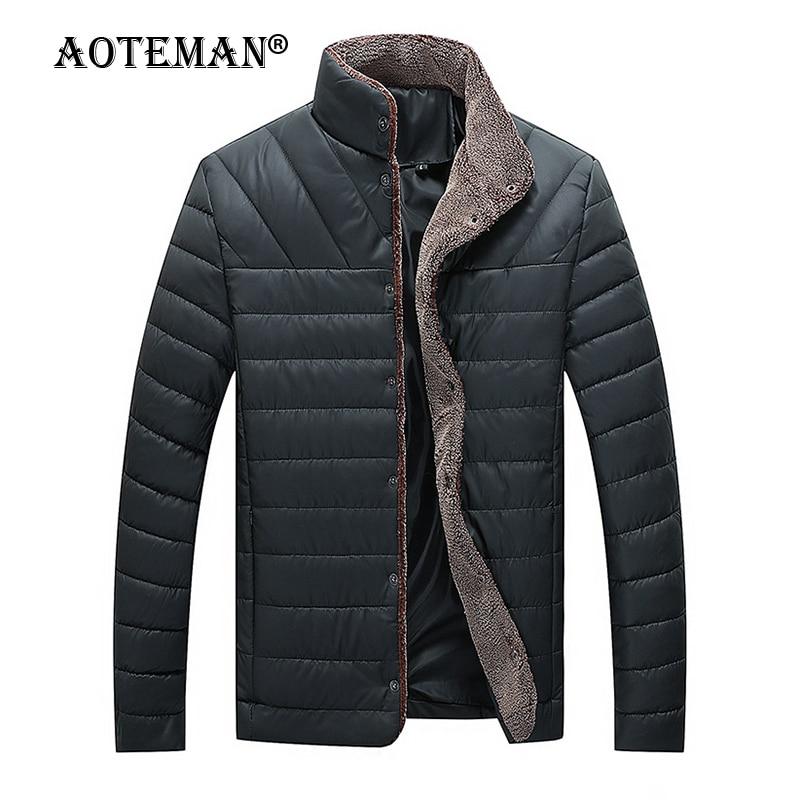 Мужские зимние куртки, теплые парки, комбинезоны, облегающие пальто, деловая Мужская одежда, ветровка, верхняя одежда, однотонная мужская по...