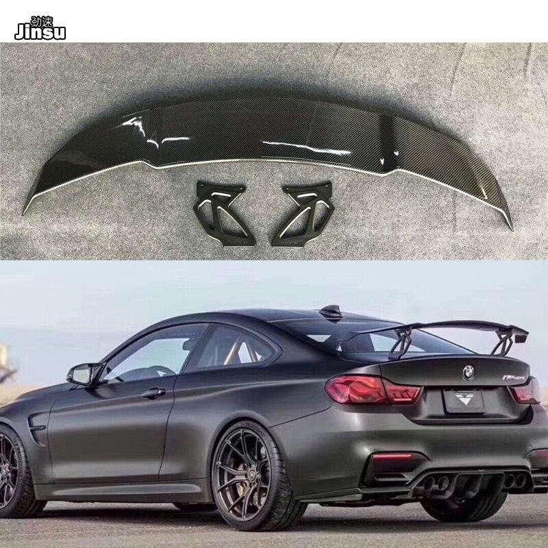 Vorsteiner style Carbon fiber rear trunk spoiler For BMW F82 M4 GTS 2014-2018 F87 M2 F80 M3 G30 M5 Racing styling spoiler wing