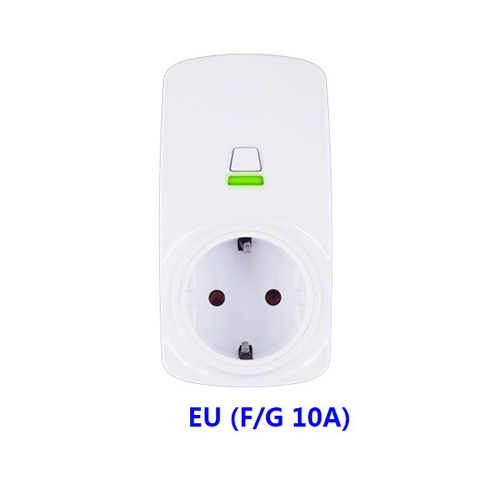 10A Wifi Wireless Smart Socket Smart Plug Wifi Outlet for Tianmao Genie for Alexa for Google Home for IFTTT EWelink
