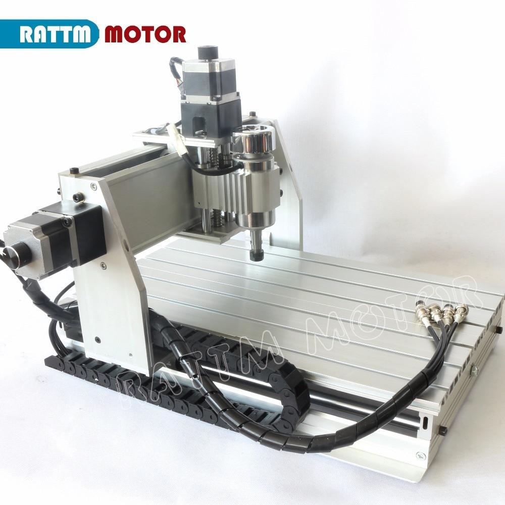 3 Axis 500W 3040 CNC  3040Z-DQ CNC ROUTER ENGRAVER/ENGRAVING Milling Cutting DRILLING Machine Ballscrew 220V/110V enlarge