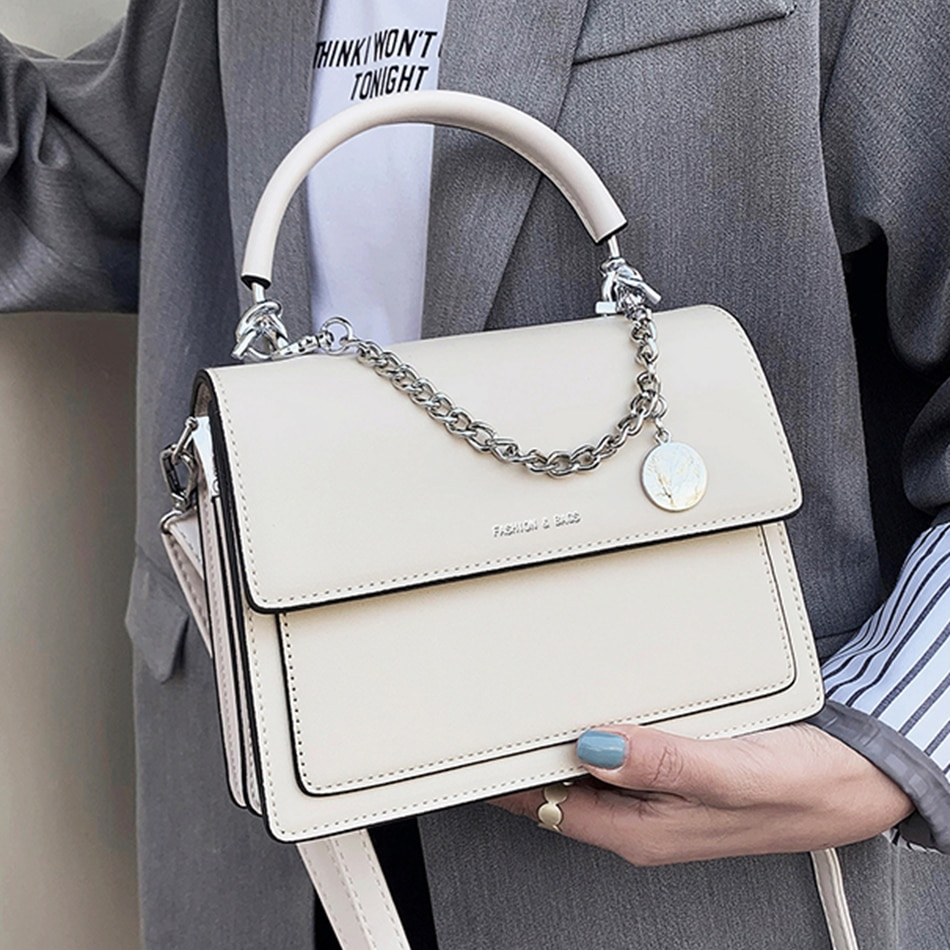 Fashion Tote Bags Women's Leather Hand Bag Daily Shoulder Bags for Women 2021 Designer Messenger Bag