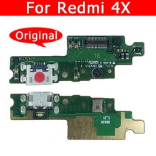 Original USB Charge Board For Xiaomi Redmi 4X Charging Port Socket Connector Mobile Phone Accessorie