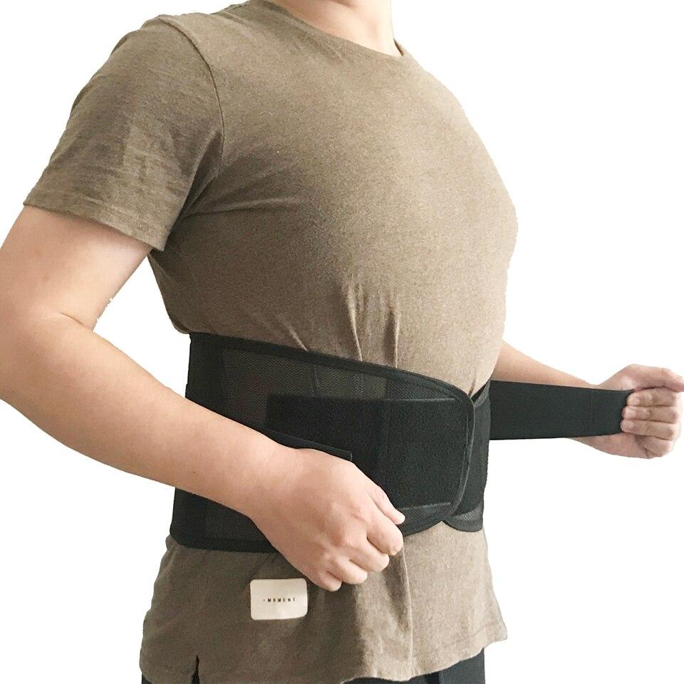 Mujeres Hombres Lumbar Shaper cintura Cincher corsé deporte adelgazante Chaleco con cinturón de vientre faja mujer correa de modelado para pérdida de peso