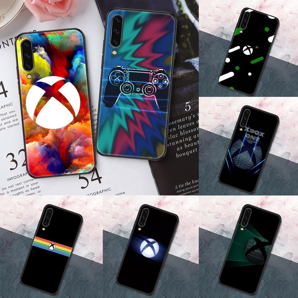 Game Console Xbox Phone case For Samsung Galaxy A 3 5 7 8 10 20 21 30 40 50 51 70 71 E S 2016 2018 4G black art hoesjes pretty