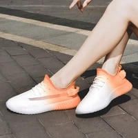 womens shoes spring and summer new style single layer fly to weave fish silk coconut shoes gradual color fashion casual shoes