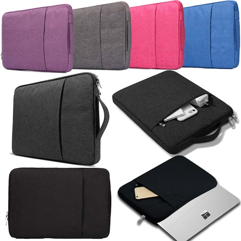 Laptop Bag for Microsoft Surface Go 2018/Surface Pro 2 3 4 5 6/Pro/Surface (2/2 RT/RT/3) Anti-fall Multicolor Computer Bag