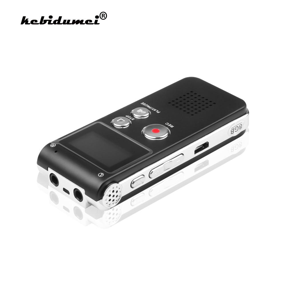 Мини USB флеш-диск kebidumei 3 в 1, 8 ГБ, цифровой аудио диктофон 650Hr, 3D стерео MP3-плеер Grabadora