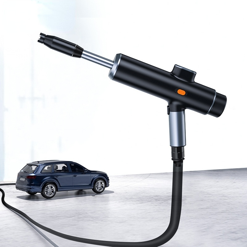 Car Electric Water Gun High Pressure Washer Foam Nozzle Car Wash Auto Cleaning USB Rechargeable Wireless Car Wash Spray