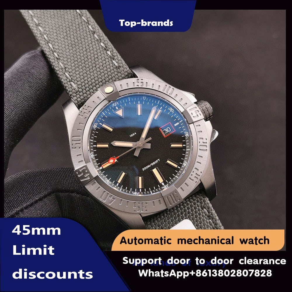 ساعة رجالي آلية استطلاعية سلسلة الانتقام E1338310 ساعة حزام عسكري ياقوت كريستال فاخرة رياضية Watc