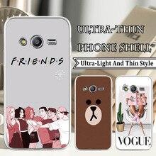 TPU Soft Silicone Phone Covers for Samsung J4 J6 S3 S7 S8 Plus S9 Plus A6 A6 Plus Fashion Friends Pr