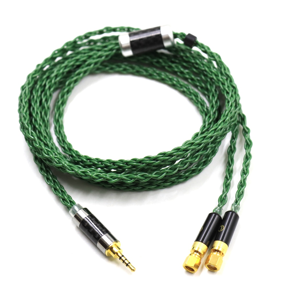 Thouliess 2.5mm 3.5mm 4.4mm Silver Plated Headphone Replacement Upgrade Cable for HiFiMan HE400 HE5 HE6 HE300 HE4 HE500 Earphone enlarge