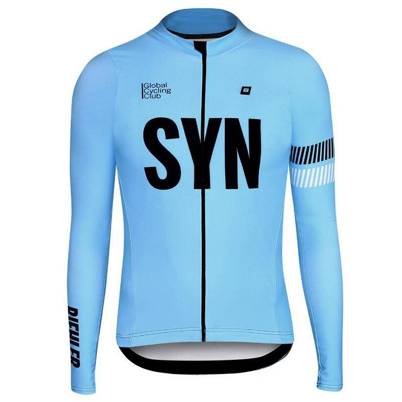 BIEHLER-Camiseta de manga larga para Ciclismo, maillot de secado rápido para Ciclismo...