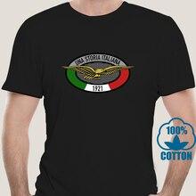 0289J imprimé hommes T-Shirt coton col rond t-shirts Moto Guzzi Storia manches courtes femmes T-Shirt