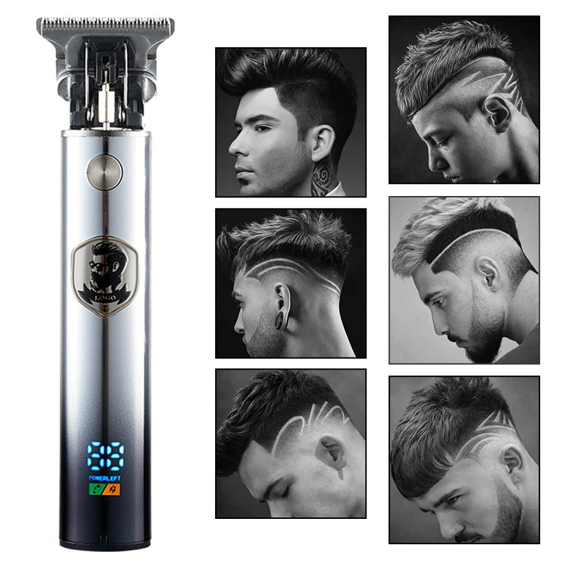 2021 Electric Hair Clipper Hair Trimmer For Men Professional Electric Shaver Beard...