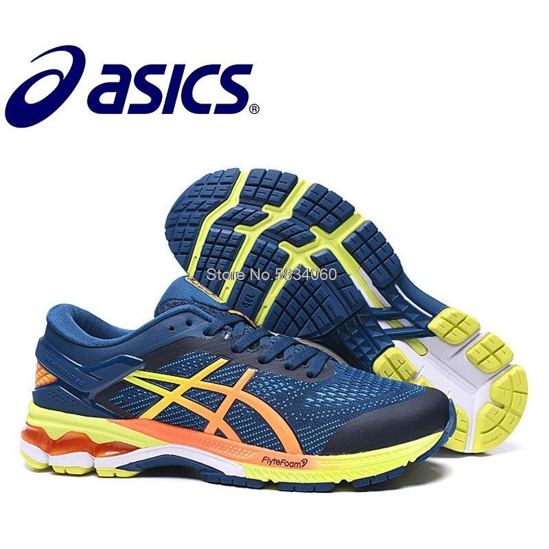 Gel GELKAYANO-Zapatillas deportivas transpirables para Hombre y calzado deportivo Original párr correr...