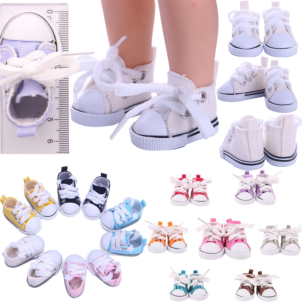 Doll Shoes 5 cm For Paola Reina Wellie Wishers 14 Inch EXO Star 20 cm Doll Clothes Accessories