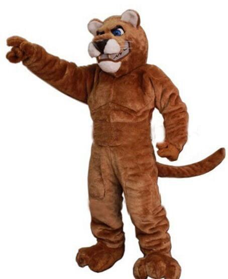 Léopard panthère chat Cougar mascotte Costume Cosplay costumes fête jeu robe tenues publicité carnaval Halloween fête de pâques