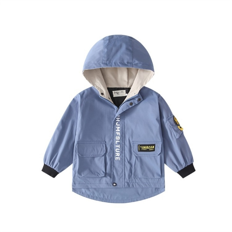 Boys' fleece-lined jacket autumn and winter children's padded jacket quilted cotton cloth boys' fashionable children's clothing enlarge