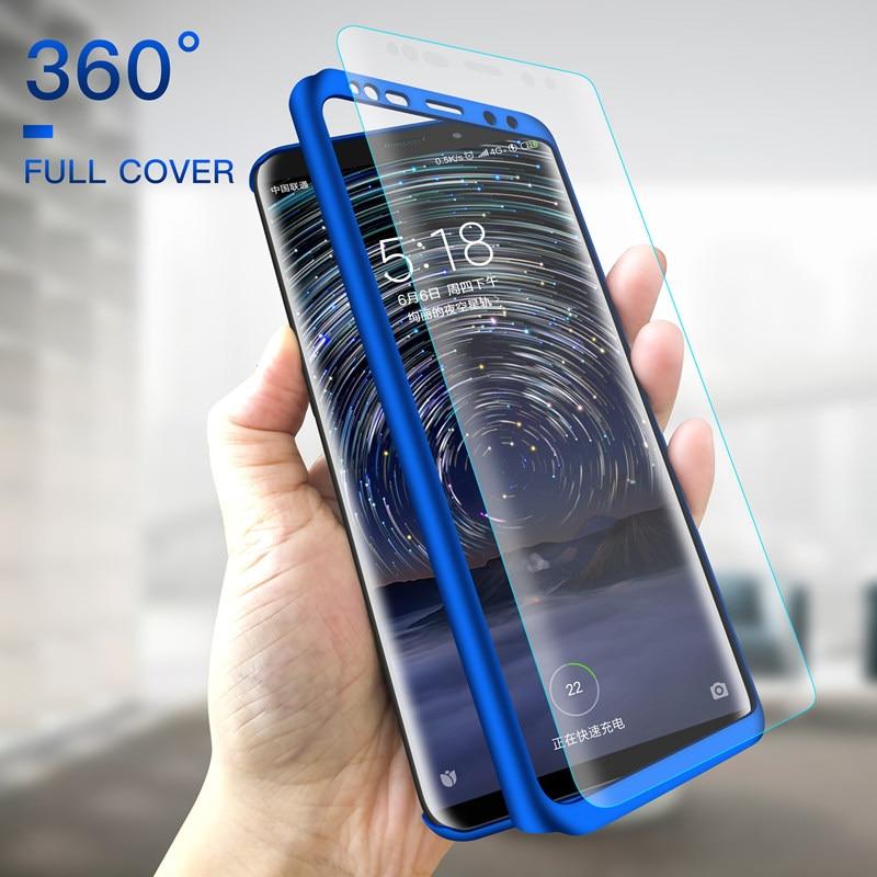 360 Полное покрытие чехол для Huawei Honor 7 8 9 10 Lite жесткий экран протектор стекло для Honor 9i 7X 8A 8X Max 6X 5X V8 V9 Play Coque