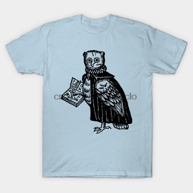 Camiseta de búho esotérico para hombre