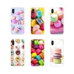 Acessórios Do Telefone Shell Capas Macarons Bolo Para Huawei Y5 Y6 Y7 Y9 Prime Pro GR3 GR5 2017 2018 2019 Y3II Y5II Y6II