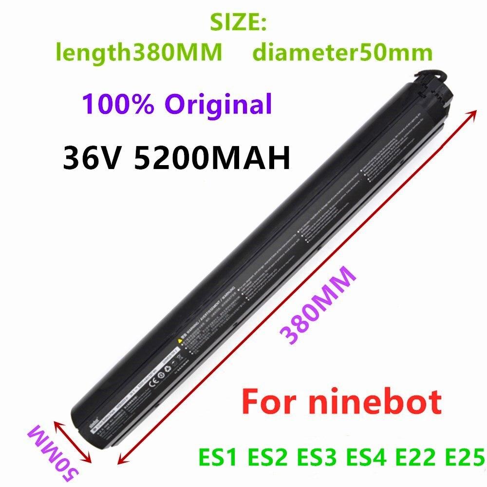 Original 36v ninebot es1 es2 es3 es4 e22 e25 montagem da bateria interna para ninebot scooter es1 es2 es3 es4 scoote elétrico inteligente