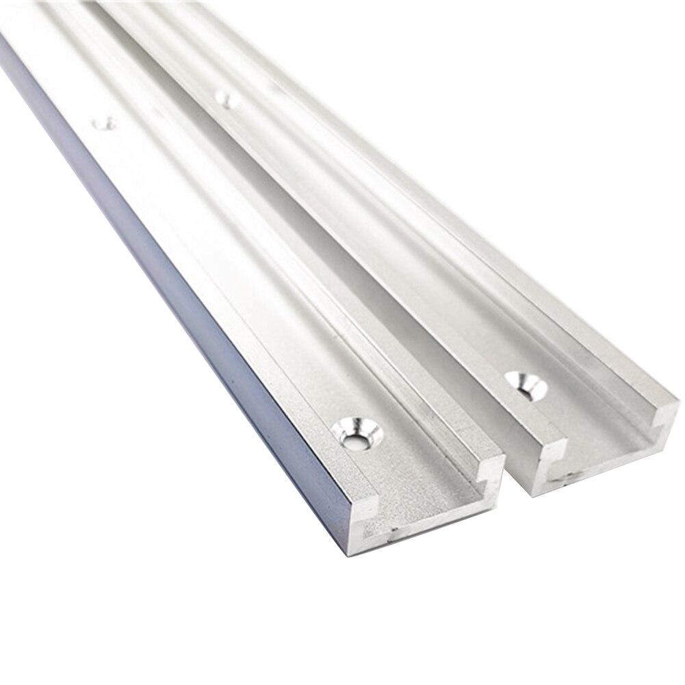 Алюминиевый сплав, деревообрабатывающий станок, портативный инструмент, сделай сам, Т-образный слот, скользящий для маршрутизатора, стола, ...