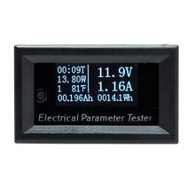 1 pièces 7in1 OLED multifonction DC 100V 10A Mini testeur de tension de courant numérique puissance Watt mètre multimètre ampèremètre voltmètre
