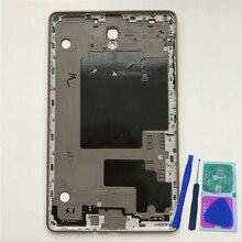 """Задняя крышка корпуса для samsung Tab S T700 T705 Galaxy 8,4 """", Оригинальный планшет, телефон, новая средняя рамка, сменная панель + инструменты"""