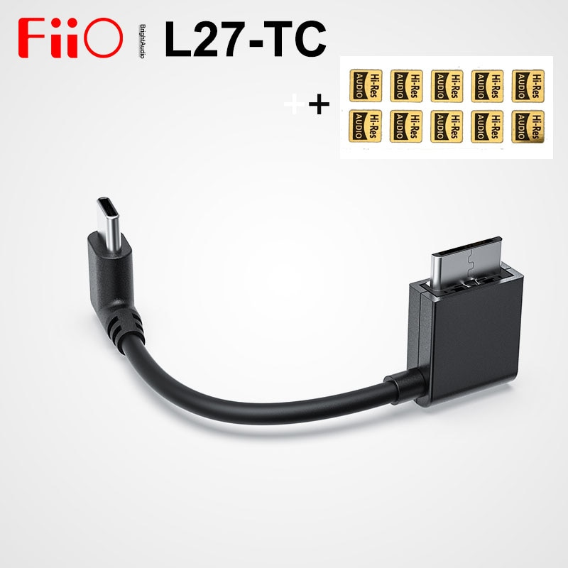 FiiO L27-TC WMprot a tipo C USB Cable de Audio Digital para...