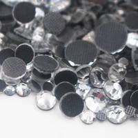 top quality better dmc clear hotfix rhinestones super bright glass strass iron on crystal hot fix rhinestone for fabric garment