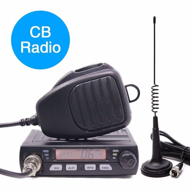 ABBREE AR-925 HF משדר מכשיר קשר לרכב נייד מכשירי רדיו cb 2 דרך רדיו סט 27MHZ מיני ווקי טוקי חזיר תחנת אינטרקום