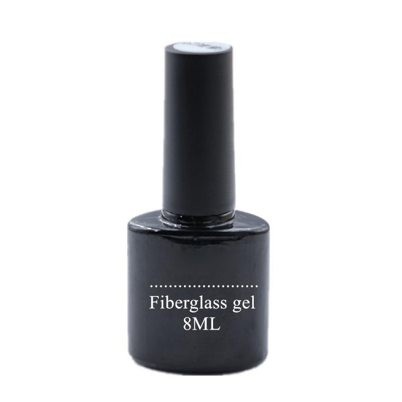 Pegatinas de envoltura de uñas de seda de fibra de vidrio para el cuidado de las uñas herramientas de manicura de decoración de uñas ZGOOD