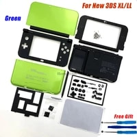 hotsale full set replacement for nintend new 3dsll xl game console case with buttons for new 3ds xl ll housing shell cover