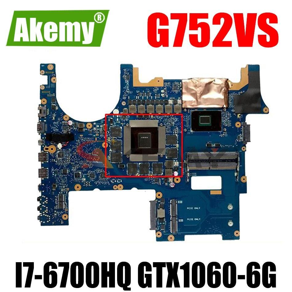 akemos placa mae para laptop rog g752vs para asus g752vs g752vsk g752vmk g752v g752