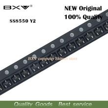 100 Pcs SS8550D Sot-23 Y2 SS8550 8550D MMBT8550 MMBT8550LT1G Nieuwe Originele