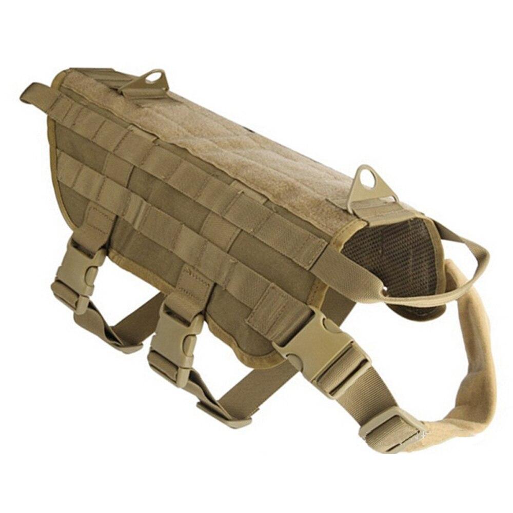 Militärische Taktische Hund Modulare Harness mit Keine Pull Vorne Clip law durchsetzung K9 Arbeits Cannie Molle Jagd Weste