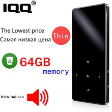 IQQ New Version X2 with Hebrew Support Bluetooth MP3 Music Player and Built-in 16GB HiFi Portable Wa